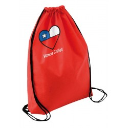 Vamos Chile Drawsting Bag